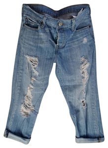 levis 501 Straight Leg Jeans-Distressed
