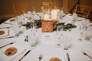 Rustic Hand Painted Table Numbers