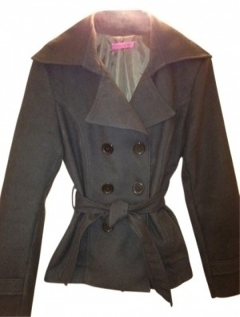 Preload https://item5.tradesy.com/images/tiziana-cervasio-cocoa-italian-soft-belted-peacoat-size-8-m-31639-0-0.jpg?width=400&height=650