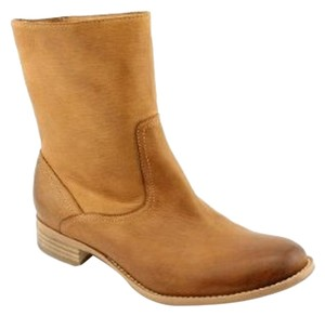 Boutique 9 Western Inspired Brand New Soft Leather Pull-on 9 Medium Brown Boots
