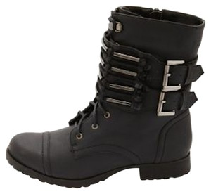 Charlotte Russe Black, Silver Boots