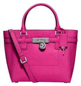 Michael Kors Satchel in Fuschia