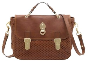 Mulberry Tillie Mesh Brown Crossbody Oak Messenger Bag