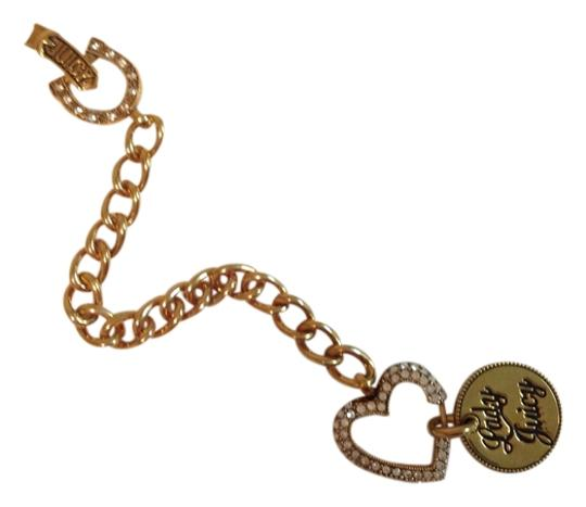 Juicy Couture Juicy couture lady love luck gold heart bracelet like new