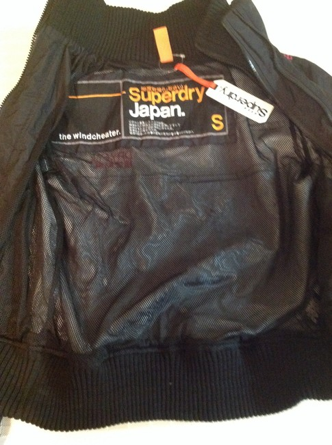 Super Dry Black Pink New Jacket