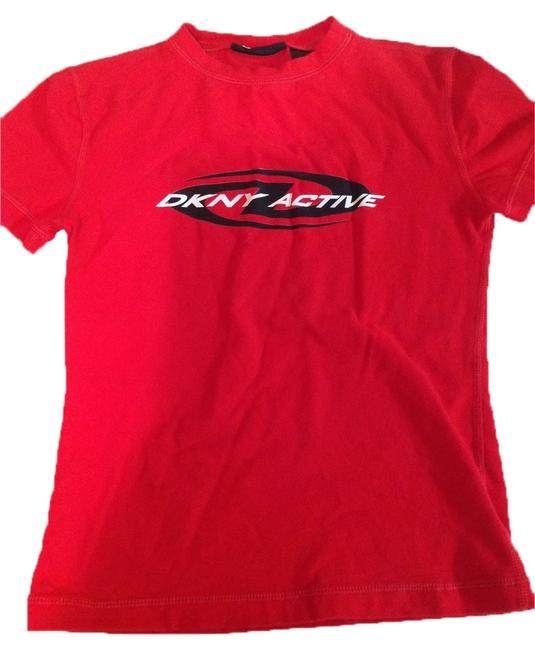 DKNY Red Active T Shirt