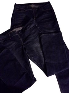 New York & Company Distressed Bundle Boot Cut Jeans-Medium Wash
