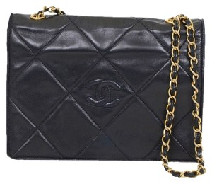 Chanel Vintage Lambskin Caviar Shoulder Bag