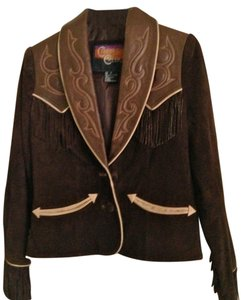 Cripple Creek Dark brown Leather Jacket