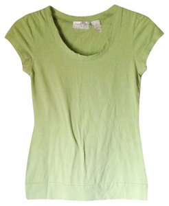 Geri C New York Green Sleeve Sleeve T Shirt