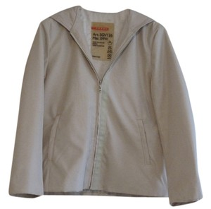 Prada Hooded Beige Biege Jacket