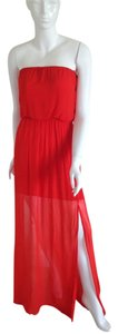 Red Maxi Dress by Chelsea Flower Maxi Party
