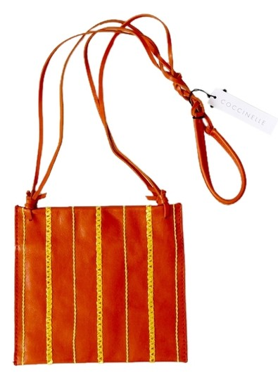 Coccinelle Pochette Leather Shoulder Bag