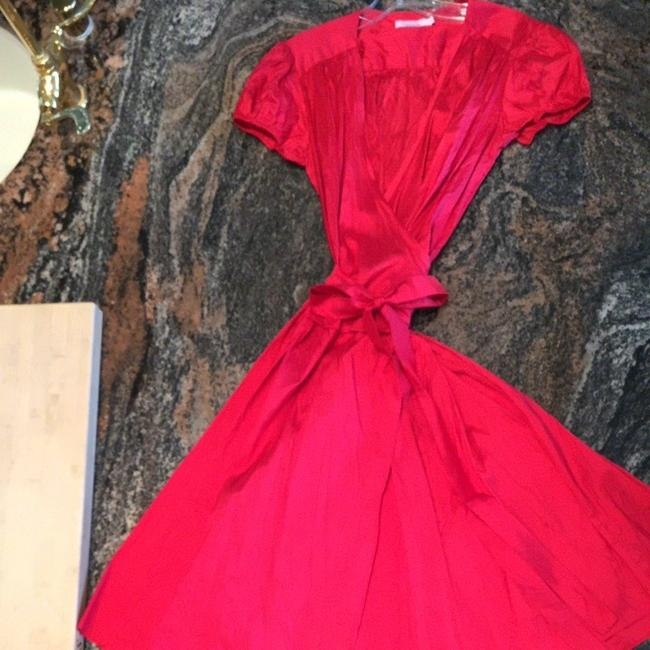 Calypso St. Barth short dress Red on Tradesy