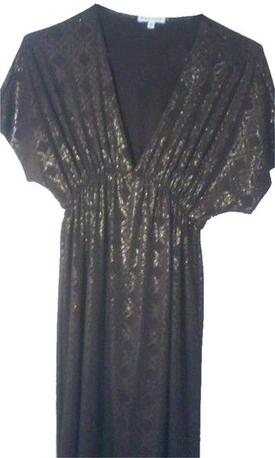 Preload https://item2.tradesy.com/images/velvet-torch-brown-and-gold-knee-length-casual-maxi-dress-size-6-s-3168466-0-0.jpg?width=400&height=650