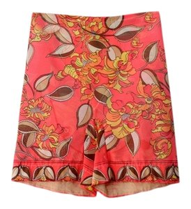 Emilio Pucci Vintage 1960s Shape Wear Hot Pants Girdle Shorts Coral