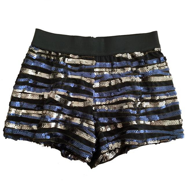 Elizabeth and James Mini/Short Shorts black silver gold blue