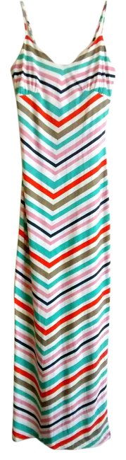 Item - Multi Chevron Long Casual Maxi Dress Size 0 (XS)