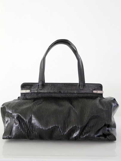 Stephane Kelian Leather Tote in Black
