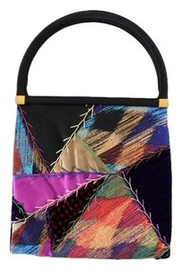 Judith Leiber Patchwork Evening Multi-Color Clutch