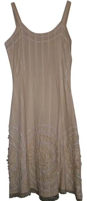 Persaman Beige Maxi Dress by Persaman New York