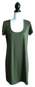 Eyeshadow short dress Olive Green on Tradesy