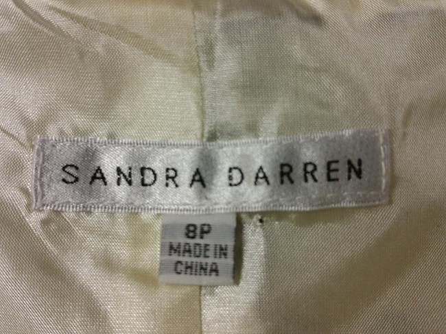 Sandra Darren Top Sandra Darren White with Black