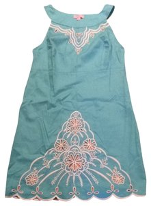 Lilly Pulitzer short dress teal on Tradesy
