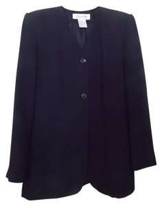 Jones New York Jones New York Women's Black Mid-cut-length Blazer/Jacket Size 4