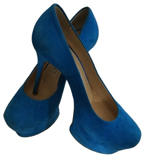 Gianmarco Lorenzi Blue Platforms
