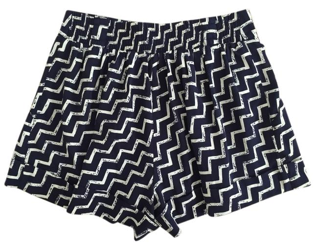 Urban Outfitters Mini/Short Shorts navy cream