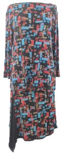 Coldwater Creek Woman Designer Printed Spandex Top and Skirt Set Size S Coldwater Creek Woman Designer Printed Spandex Top and Skirt Set Size S