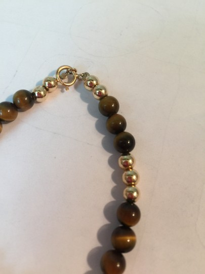Other 14K YELLOW GOLD AND BROWN TOPAZ BRACELET