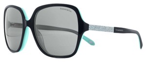 Tiffany & Co. Tiffany Metro square sunglasses in black acetate with Austrian crystals