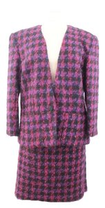 Esteban Esteban by Gary Worth Woman Designer Multicolor Suit-skirt Size 14