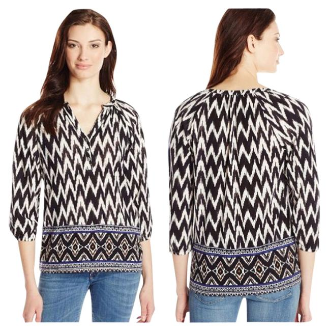 Lucky Brand Top Black/White