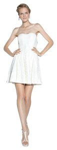 Nicole Miller short dress ivory Cut The Cake Special Occasion Bridal Rehearsal Dinner on Tradesy