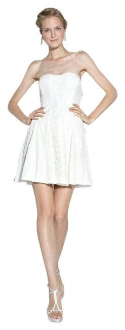 Nicole Miller short dress ivory Cut The Cake Special Occasion Bridal Shower Rehearsal on Tradesy
