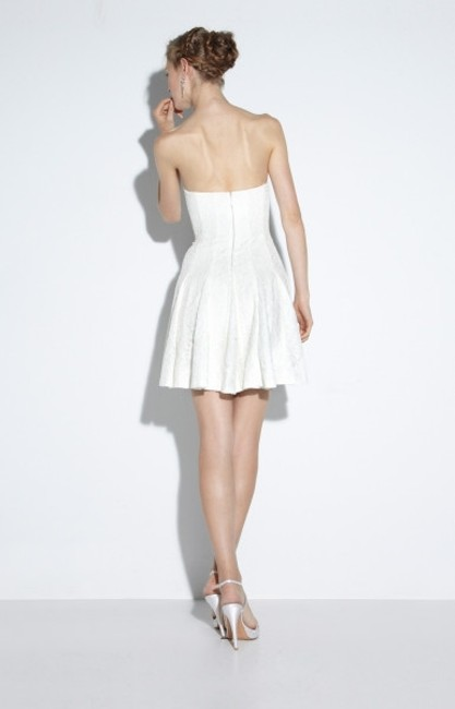 Nicole Miller short dress ivory Cut The Cake Special Occasion Bridal Shower Rehearsal Dinner on Tradesy