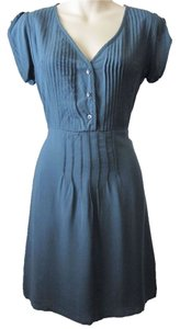 Title nine short dress blue Button Up Mini Soft on Tradesy