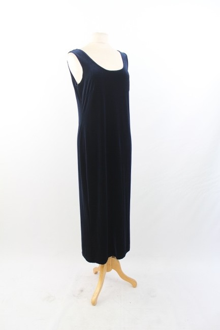 Blue Maxi Dress by R.J. Collection by Chelsea