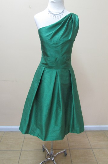 Alfred Sung Ivyy Dupioni D458 Formal Bridesmaid/Mob Dress Size 10 (M)