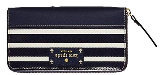 Kate Spade Kate Spade Wellesley Fabric Neda - French Navy/Cream (BRAND NEW)