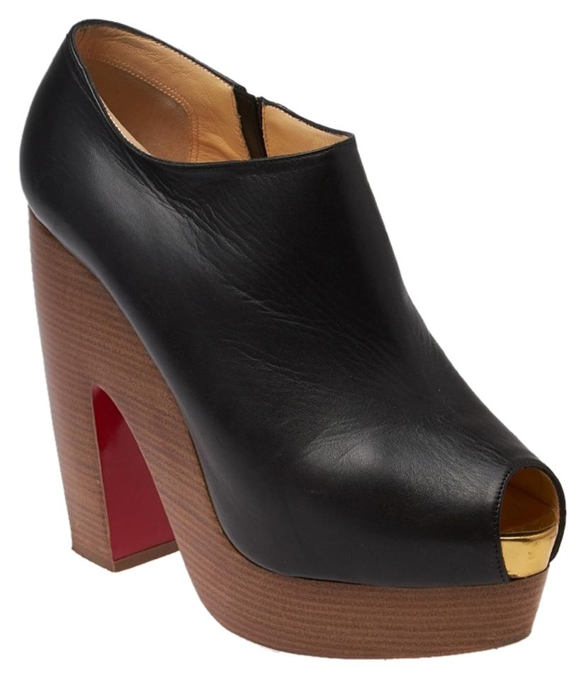 christian louboutin simple booty 85 ankle boots w tags