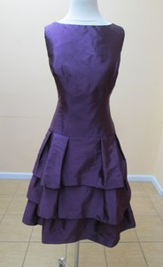 Alfred Sung Italian Plum D464 Dress
