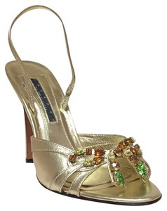 Laundry by Shelli Segal Gold Sandals