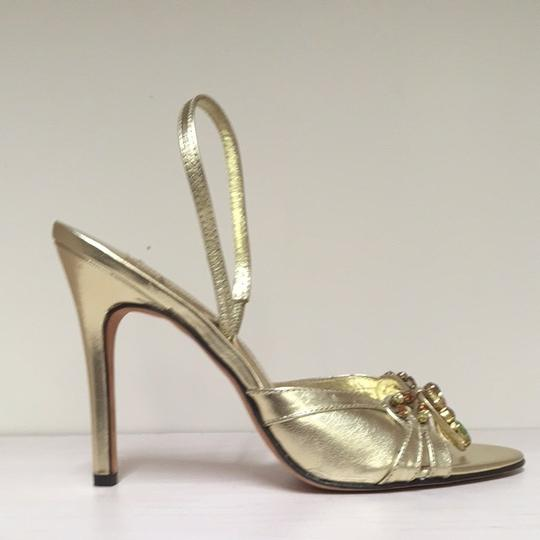 Laundry by Shelli Segal Kayla Gold Sandals