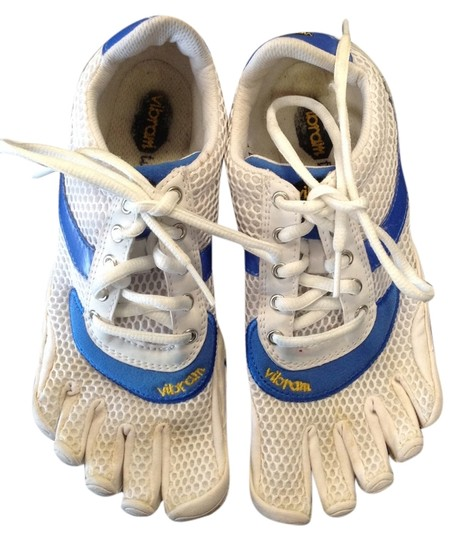 Preload https://item3.tradesy.com/images/vibram-white-and-blue-athletic-3173782-0-0.jpg?width=440&height=440