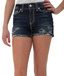 BKE Denim Shorts-Dark Rinse