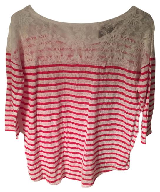 Express Top Red & White